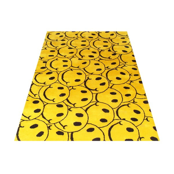 Dywan Bakero Smile Yellow, 153x244 cm