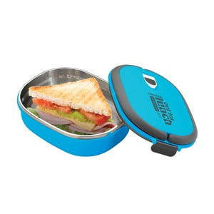 Pojemnik na lunch Lunchbox Blue, owalny