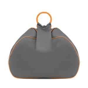 Worek do siedzenia Vivonia Outdoor Dark Grey/Acid Orange