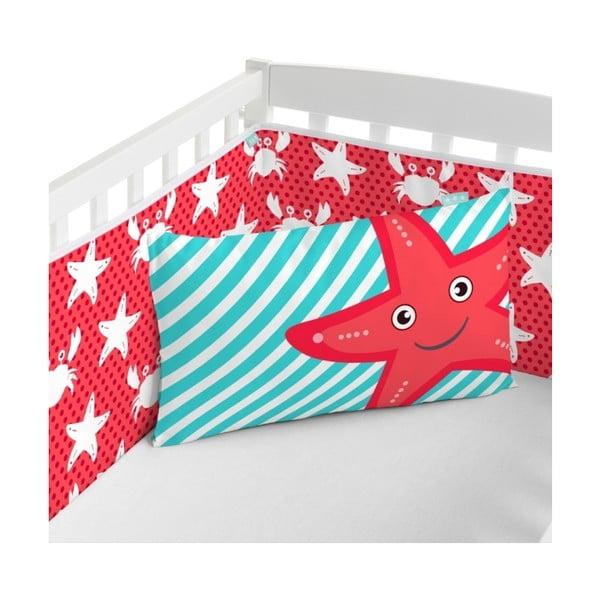 Ochraniacz na łóżeczko Little W Under The Sea, 210x40 cm