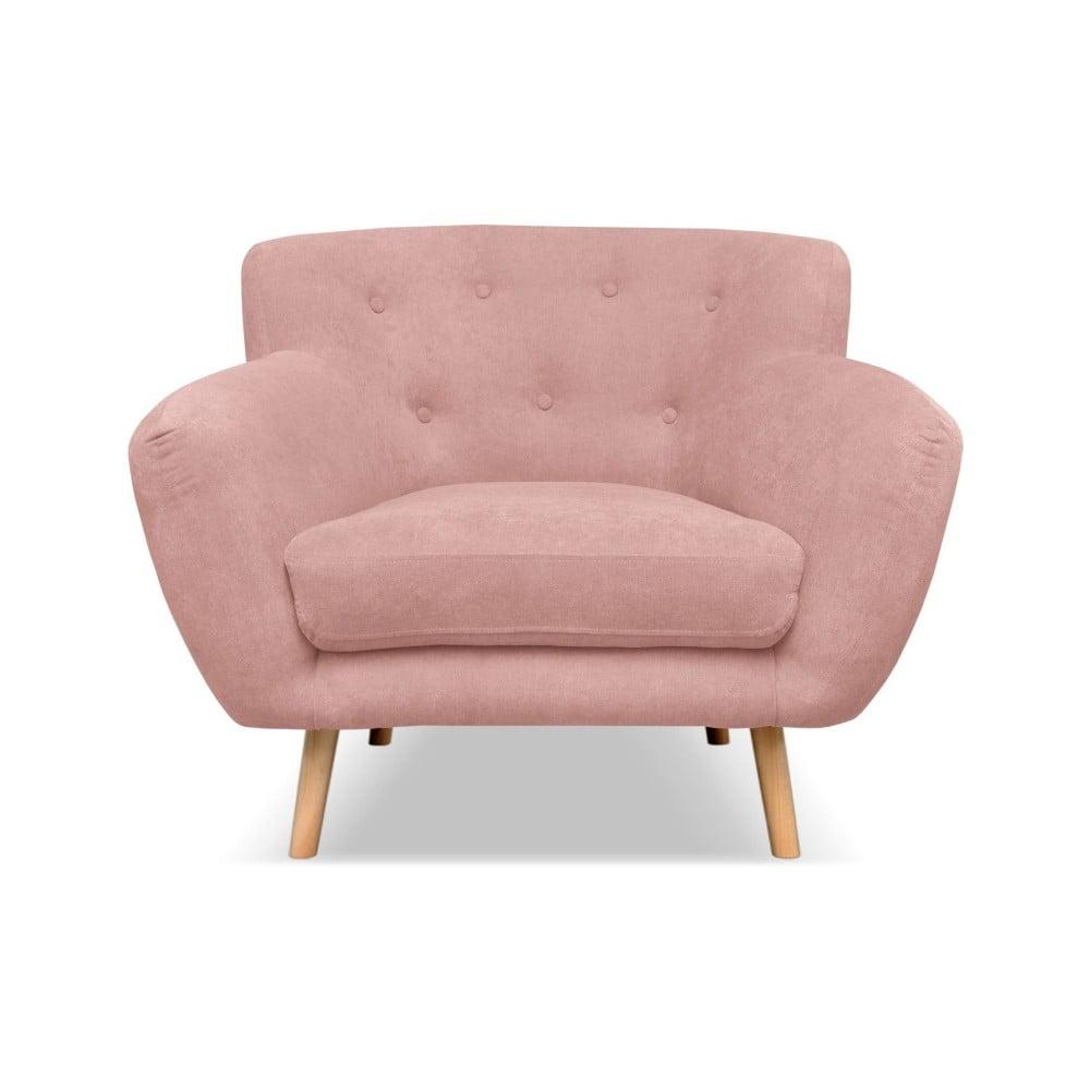 Jasnoróżowy fotel Cosmopolitan design London