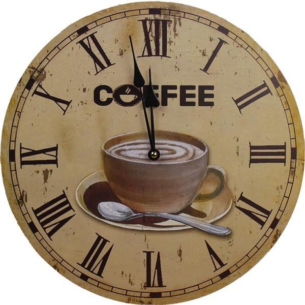 Zegar Coffee Time, 34 cm