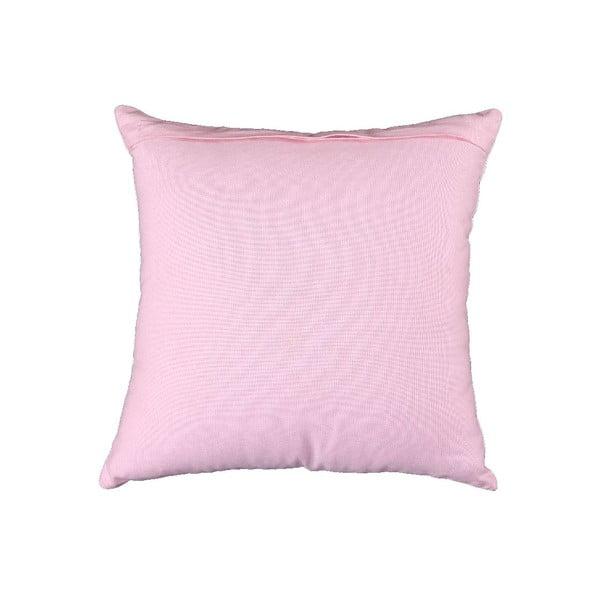Poszewka na poduszkę Corazon 40x40 cm, różowa