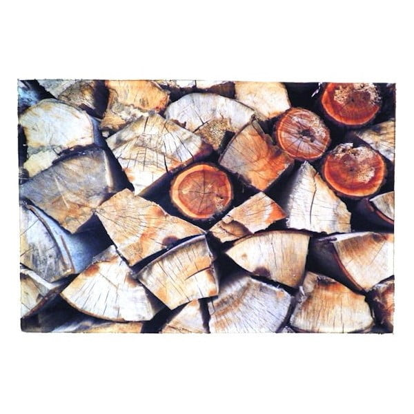 Dywanik Fireplace Wood 75x50 cm