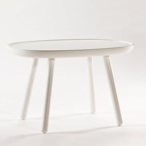 Biały stolik z litego drewna EMKO Naïve Medium