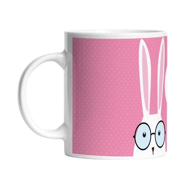 Ceramiczny kubek Hi Bunny, 330 ml