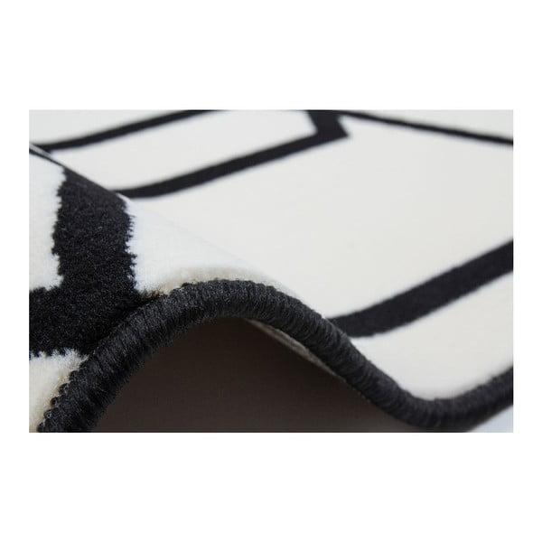 Dywan Stella 400 Ivory Black, 80x150 cm