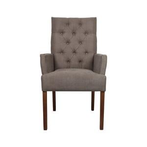 Beżowo-szary   fotel HSM Collection Cambridge