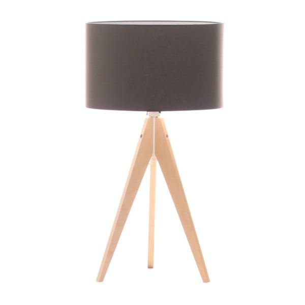 Lampa stołowa Artist Dark Taupe/Birch, 40x33 cm