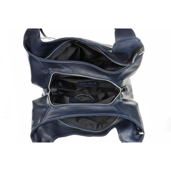 Skórzana torebka Soft Mood Blue