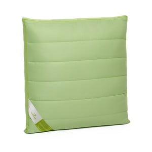 Zielona poduszka z bambusowym wypełnieniem Perna Nature Green Future, 60x60cm