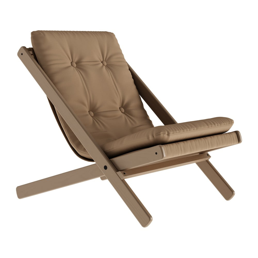Składany fotel Karup Design Boogie Desert Brown/Mocca