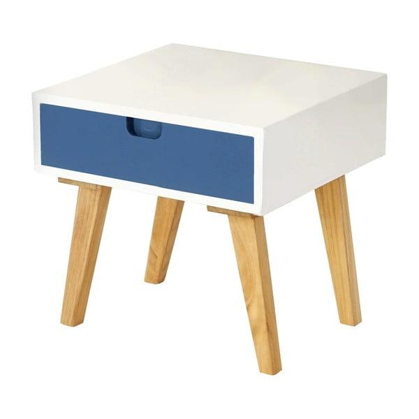 Stolik nocny Vaasa Blue, 40x40 cm