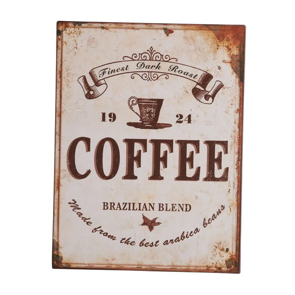 Tablica Coffee, 35x27 cm