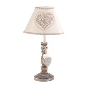 Lampa stołowa w rustykalnym stylu