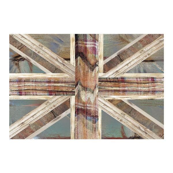 Tapeta wielkoformatowa Angielska flaga, 158x232 cm