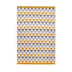 Dywan Mindi 120x180 cm, szaro-pomarańczowy
