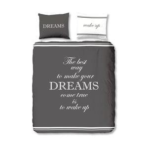 Pościel Dreams Antracit, 140x200 cm