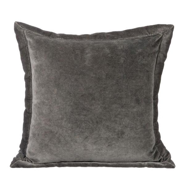 Poduszka Velour Grey, 40x40 cm