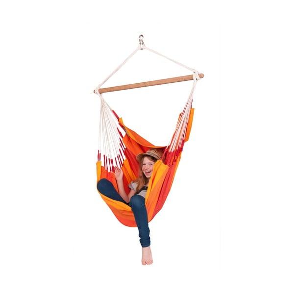 Krzesło-Hamak  Orquidea, pomarańczowy