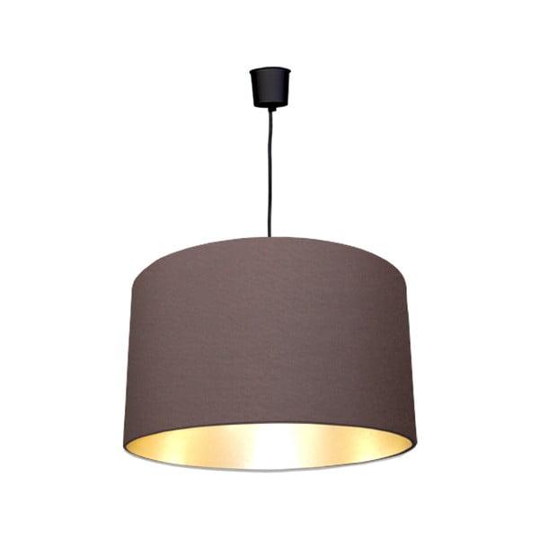 Lampa sufitowa Gold Inside Three Brown