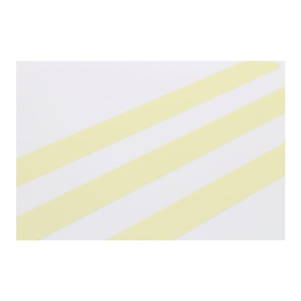 Taśma dekoracyjna washi Uni Pastel Jaune
