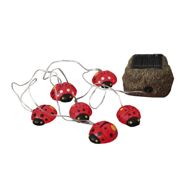 Lampa ogrodowa Solar Energy 6 Light Lady Bugs