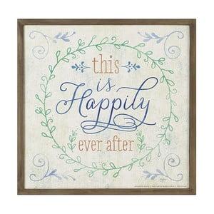 Dekoracyjny napis Heaven Sends Happily Ever After