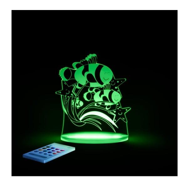 Dziecięca lampka nocna LED Aloka Rybka