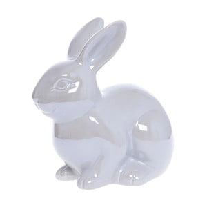 Biały zajączek ceramiczny Ewax Pearl Rabbit Babette