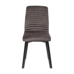 Szare krzesło Kare Design Lara