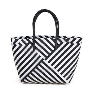 Biało czarna torba plażowa Art of Polo Gura