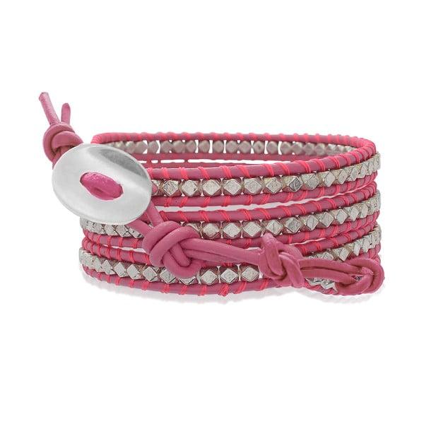 Bransoletka Pink Crystals