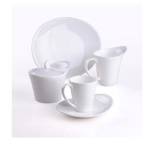 Porcelanowy zestaw do kawy, 20 szt.