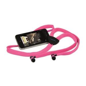 Słuchawki hi-String, różowe