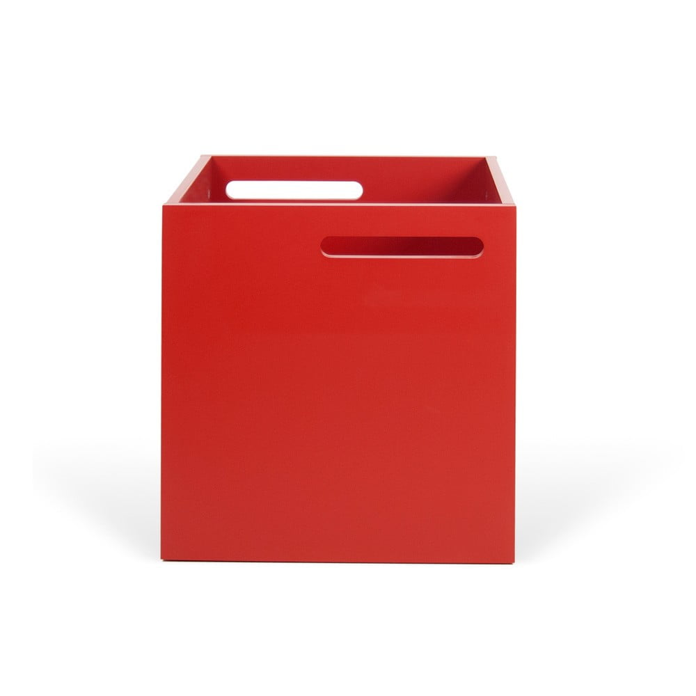 Czerwone pudełko na regał TemaHome Berlin