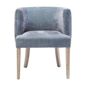 Niebieskie krzesło Kare Design Theater