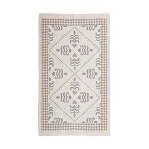Kremowy dywan bawełniany Floorist Flair, 80x300cm