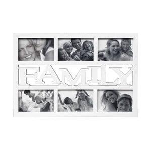 Ramka na 6 zdjęć Family, biała