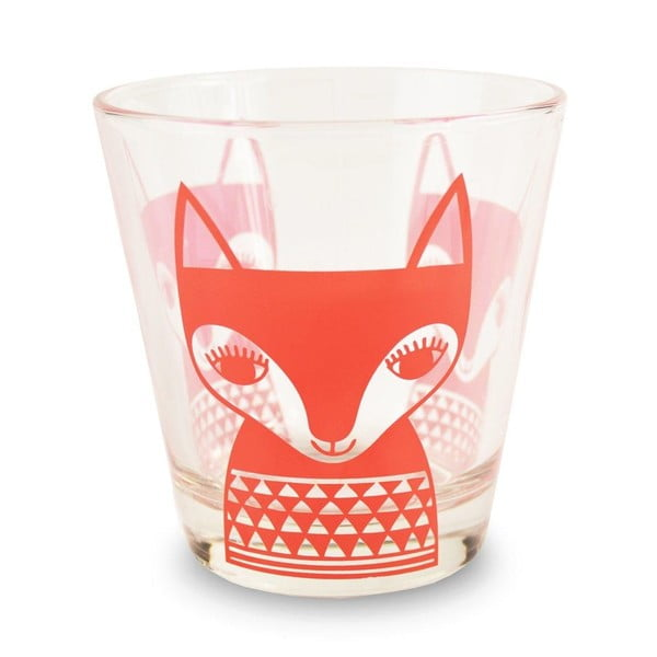Szklanka MAKE International Red Fox, 250 ml
