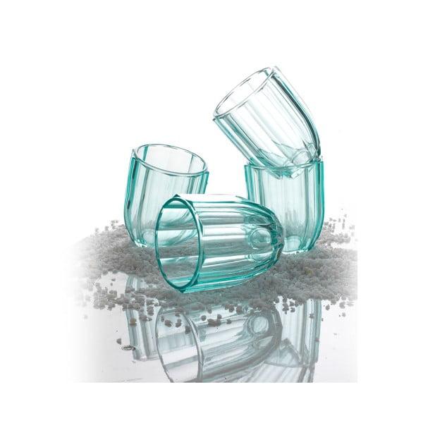 Zestaw 4 szklanek Soleil Eau