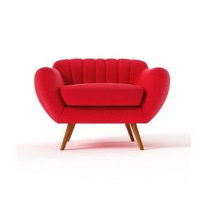 Fotel Azzurre, czerwony