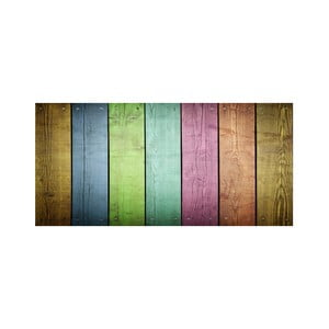 Winylowy dywan Cocina Tablas Colores, 50x80 cm