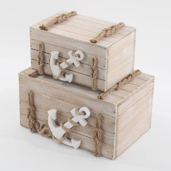 Dwa pudełka Kotwica