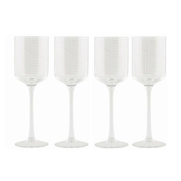 Komplet kieliszków na wino White Wine, 4 sztuki