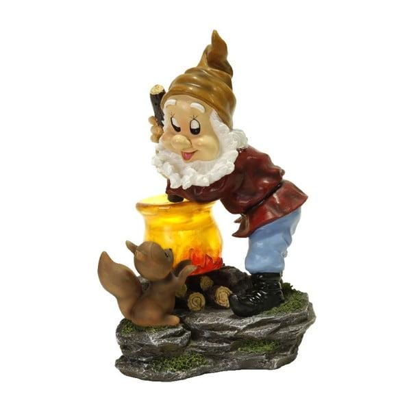 Dekoracja ogrodowa LED Best Season Cook Dwarf, 24 cm