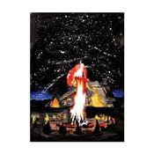 """Plakat autorski Toy Box """"Ogień"""", 60x80 cm"""