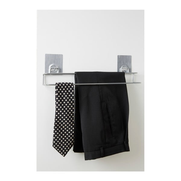 Stalowy wieszak na spodnie i krawaty Compactor Magic