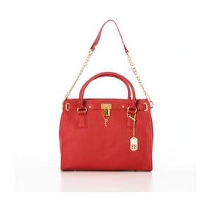 Skórzana torebka Dollaro Red