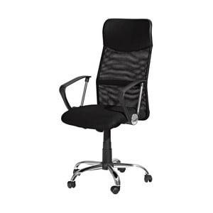 Czarny fotel biurowy SOB Office